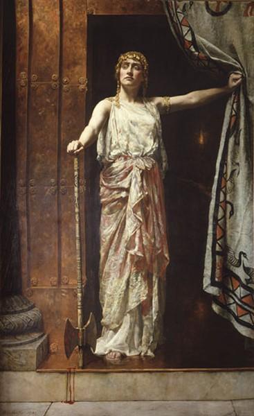 John Collier - Clytemnestra-1882