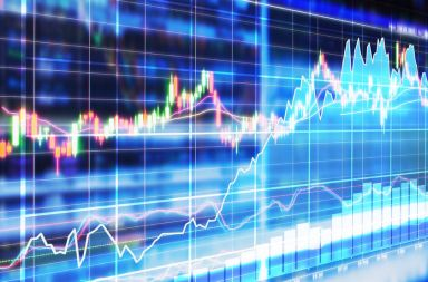 46725379 - stock market concept and background