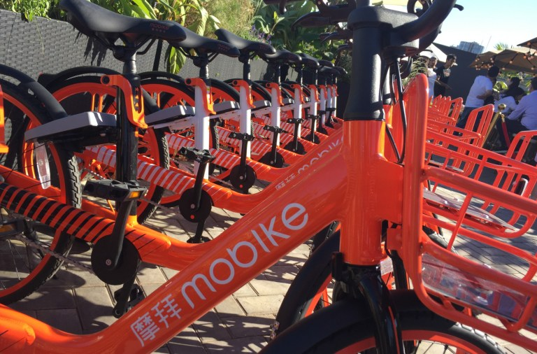 Mobike's new model