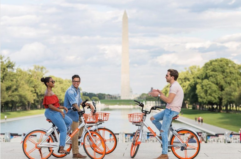 Mobike in DC