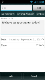 whatsapp shedule message