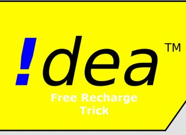 Idea Free Recharge Tricks October 2016 Get Free Talktime Balance on Idea
