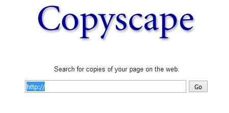 copyscape to detect copied content