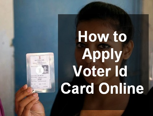 how to apply voter id card online in india