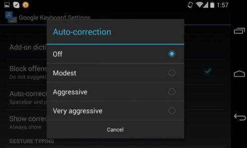 Turn Off Auto Correct on your Android Device