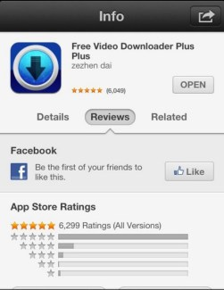 "Search for ""Free Video Downloader Plus"" & Download it"
