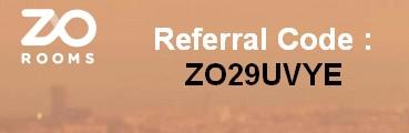 ZOROOMS REFERRAL CODE
