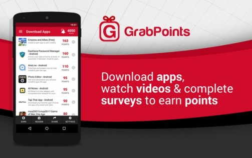 grab points earn free amazon gift card