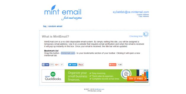 MintEmail
