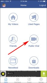 how to download videos from facebook to iphone