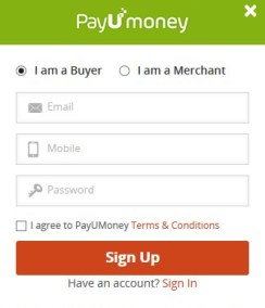 PAYumONEY SIGNUP OFFER