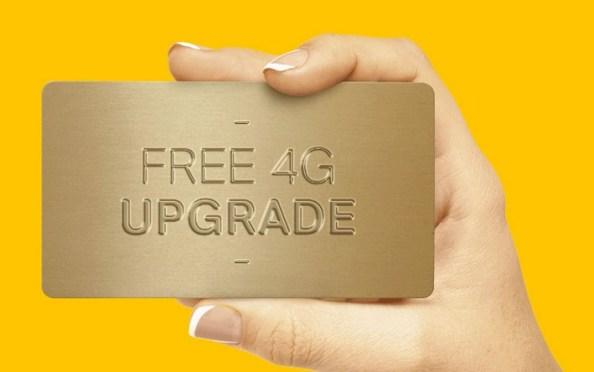airtel 4g upgrade free