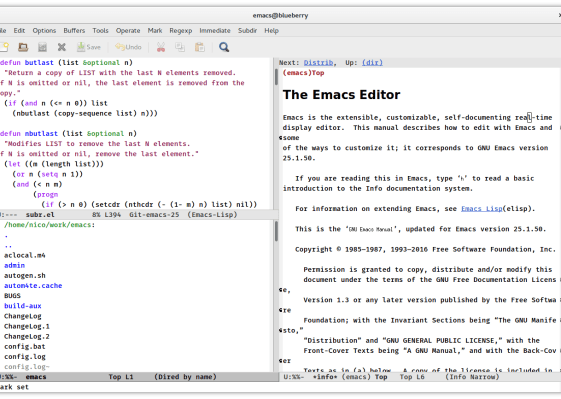 GNU Emaes
