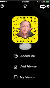 block friend on snapchat