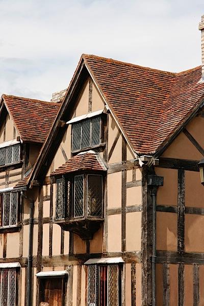 The obligatory photo of Shakespere's house