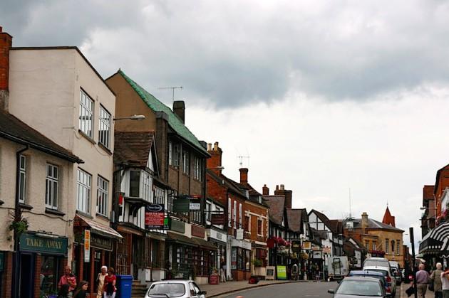 Street of Stratford-on-Avon