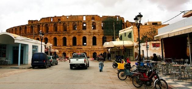 El Jem & the colosseum