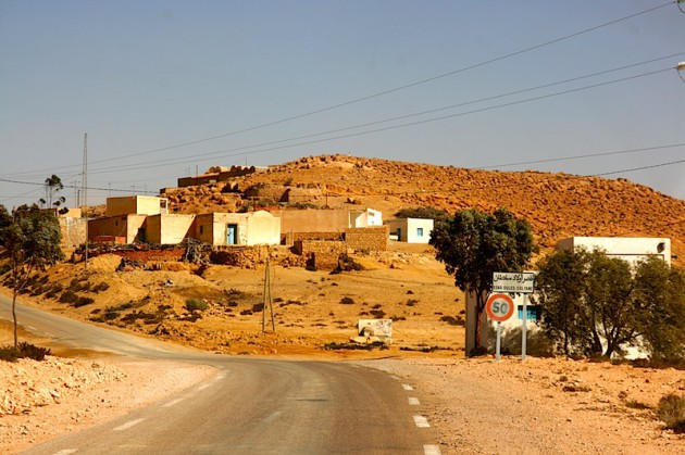 The town of Ksar Ouled Soltane