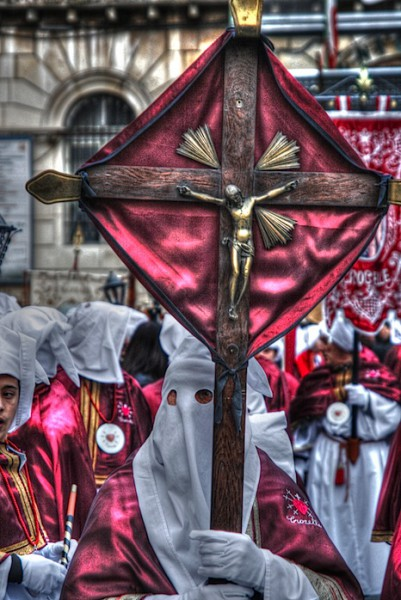 Cross-bearer in Chieti
