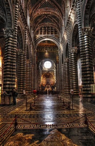 Siena Duomo, HDR, 2
