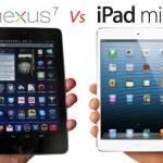 Google Nexus 7 vs Apple iPad Mini vs Samsung Galaxy Tab 2 310