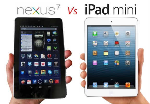 Google Nexus 7 vs Apple iPad Mini