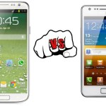 Samsung Galaxy S4 vs Samsung Galaxy S2 Specs, Features Comparison