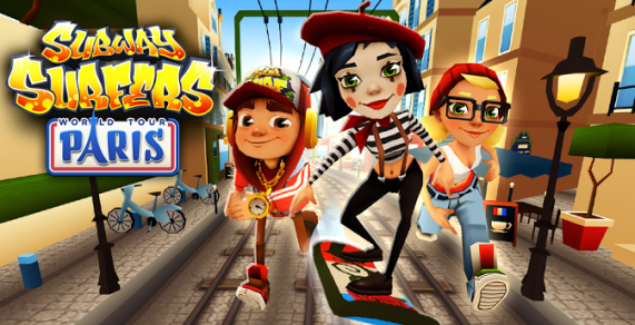 Subway Surfer Paris