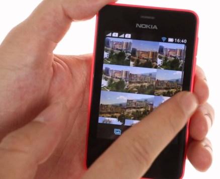Nokia Asha Screenshot