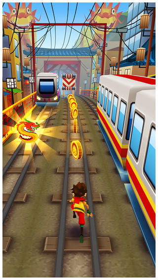 Subway Surfers Dragon - Beijing Metros