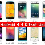 Blu Android 4.4 Kitkat Update, Firmware Release