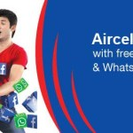 Free Aircel WhatsApp and Facebook Access for 2 Months