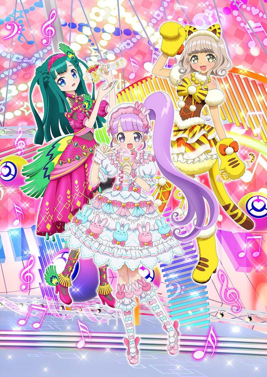 "PriPara revela ""Non Sugar"" nuevo grupo Idol para el anime"