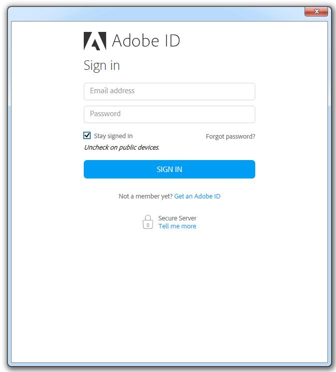 adobe reader login
