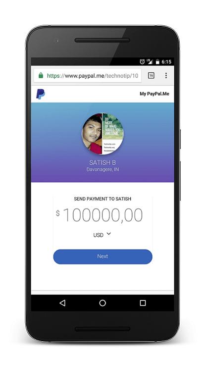 PayPal-Me-Technotip-Satish