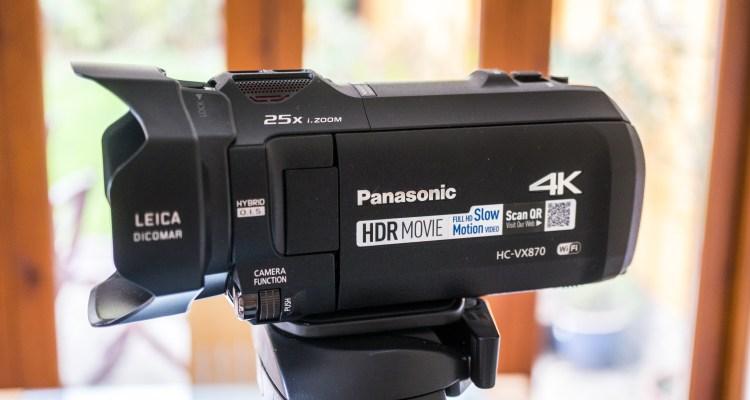Panasonic VX870 Camcorder 1