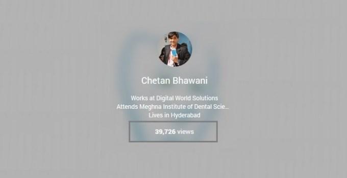 Google Plus Profile Views
