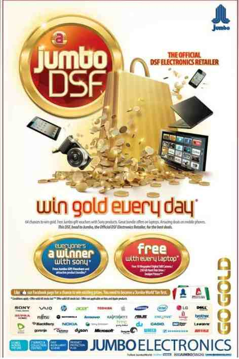 jumbo1 #DSF2012  Dubai Shopping Festival offers, deals, discounts, raffles ,prizes and more...