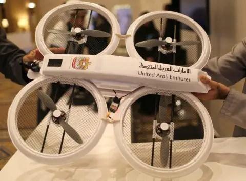 UAE GOVT DRONES.
