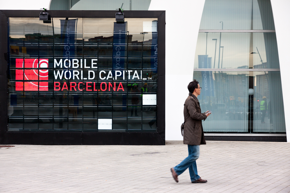 Behind the scenes in Barcelona: A somewhat perplexed crowd  of mobile executives