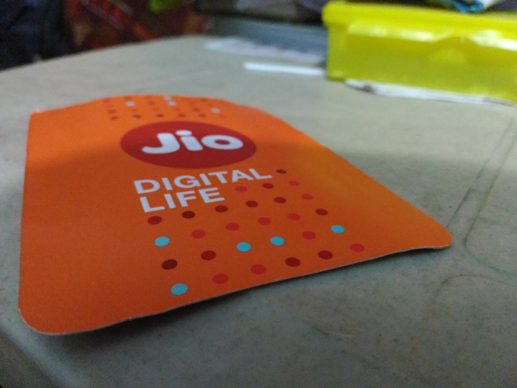 India's mobile market making space for Jio