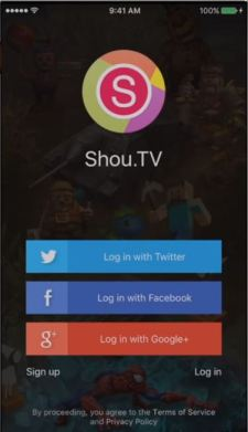 Login Using Facebook, Google or Twitter account in Airshou