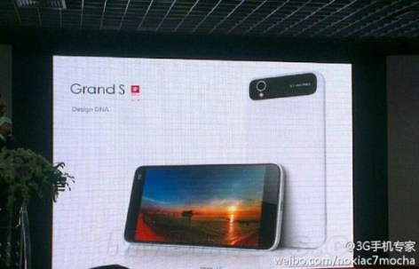ZTE Grand S more Details and Images surfaced ahead of CES 2013