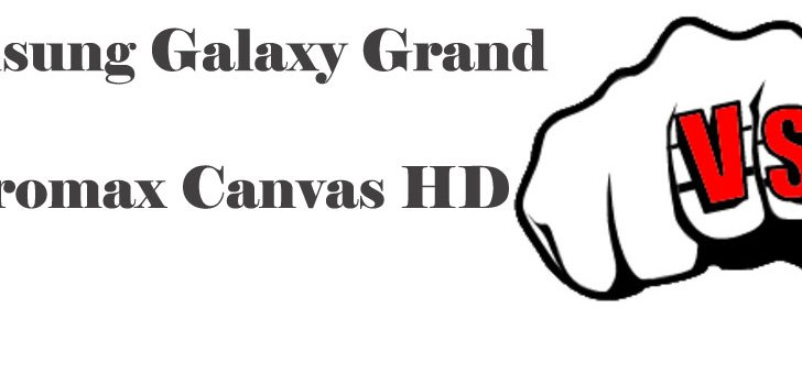 Samsung Galaxy Grand vs Micromax A116 Canvas HD