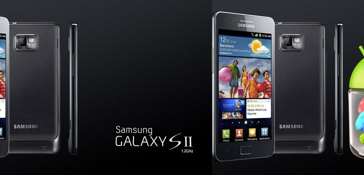 Samsung Galaxy S2 gets Jelly Bean 4.1.2 update in India