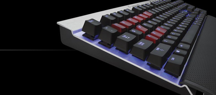 Corsair unveils Vengeance K70 Fully Mechanical Gaming Keyboard with backlit keys