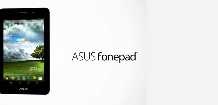 Asus FonePad launched in India with Intel processor, priced at Rs 15999