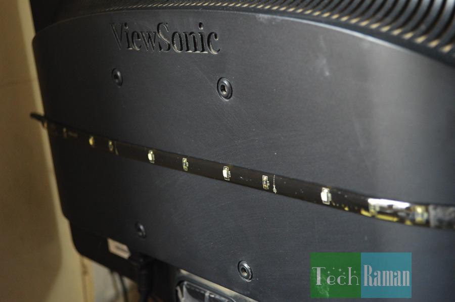 Antec-bias-lighting-strip-on-monitor