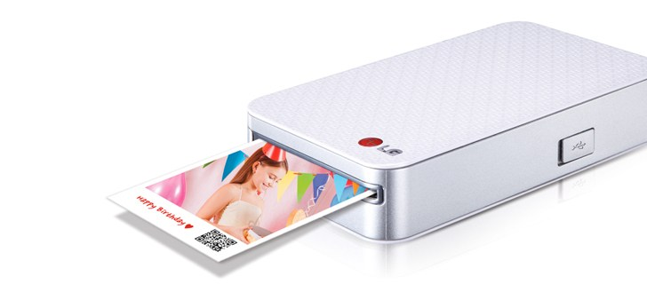 LG PD233 Pocket Photo Printer announced in India for Rs 14990