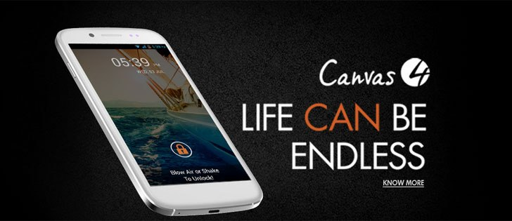 Micromax Canvas 4 A210 launched, priced at Rs 17,999